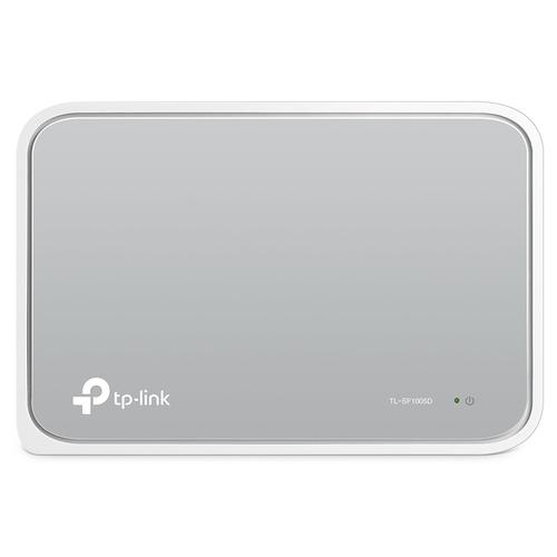 TP-Link TL-SF1005D Switch Unmanaged Fast Ethernet (10/100) 5 poorten  productfoto