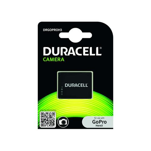Duracell DRGOPROH3 batterij voor camera's/camcorders Lithium-Ion (Li-Ion) 1000 mAh productfoto