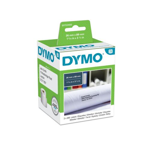 DYMO LW - Grote adreslabels - 36 x 89 mm - S0722400 productfoto