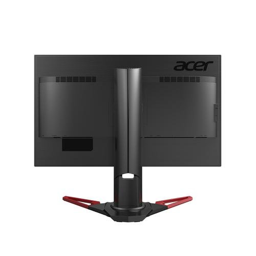 "Acer XB Predator XB271HU computer monitor 68,6 cm (27"") Wide Quad HD LED Zwart, Rood productfoto  L"