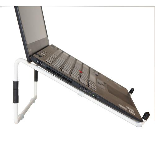 R-Go Tools R-Go Steel Travel Laptopstandaard, wit productfoto