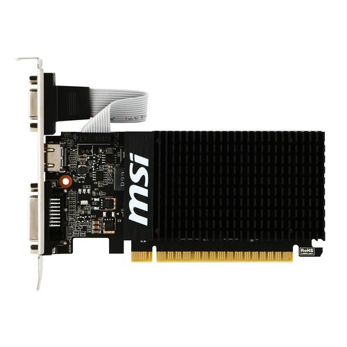 MSI V809-2000R videokaart GeForce GT 710 2 GB GDDR3 productfoto