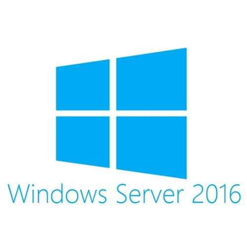 Microsoft Windows Server 2016 Standard 16 Cores Nederlands productfoto