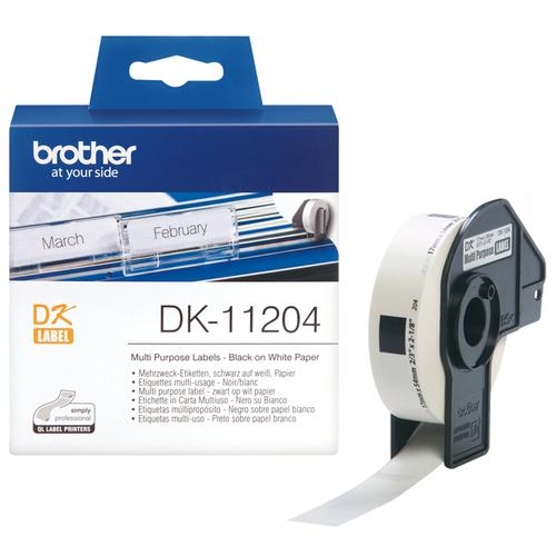 Brother Multifunctionele labels papier 17 x 54 mm productfoto