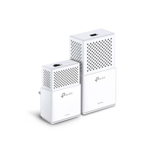TP-LINK AV1000 Powerline Wi-Fi Kit 1000 Mbit/s Ethernet LAN Wit 2 stuk(s) productfoto