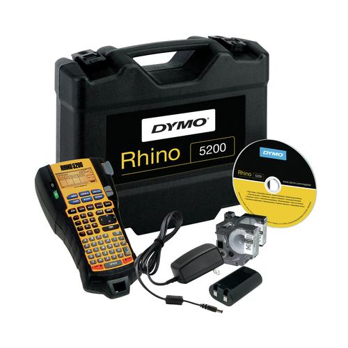 DYMO RHINO 5200 Kit labelprinter Thermo transfer 180 x 180 DPI ABC productfoto