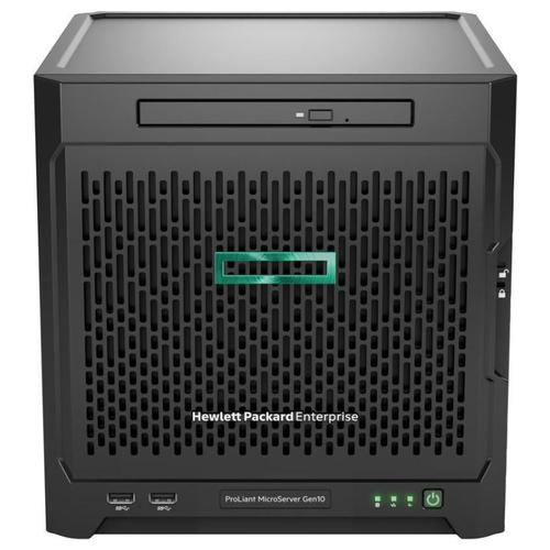 Hewlett Packard Enterprise ProLiant MicroServer Gen10 server 1,6 GHz AMD Opteron Ultra Micro Tower 200 W productfoto