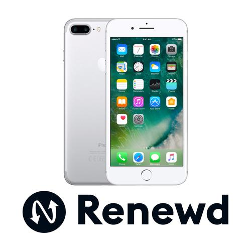 Renewd iPhone 7 Plus Zilver 32GB productfoto