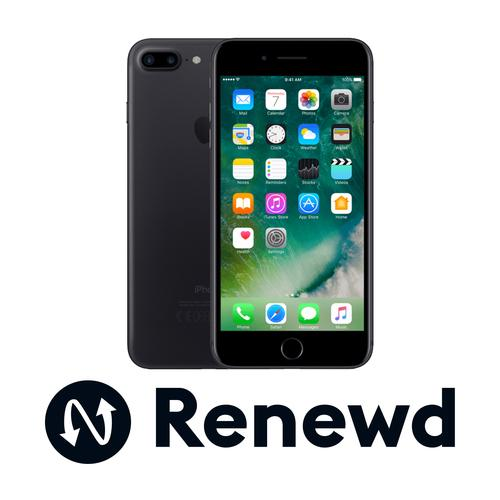 Renewd iPhone 7 Plus Zwart 128GB productfoto