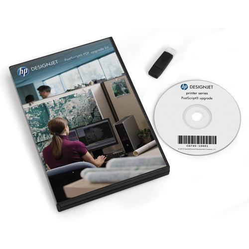 HP DesignJet PostScript/pdf-upgradekit productfoto  L
