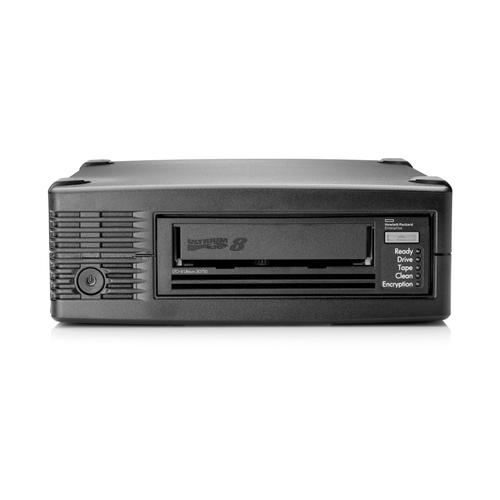 Hewlett Packard Enterprise StoreEver LTO-8 Ultrium 30750 tape drive 12000 GB productfoto