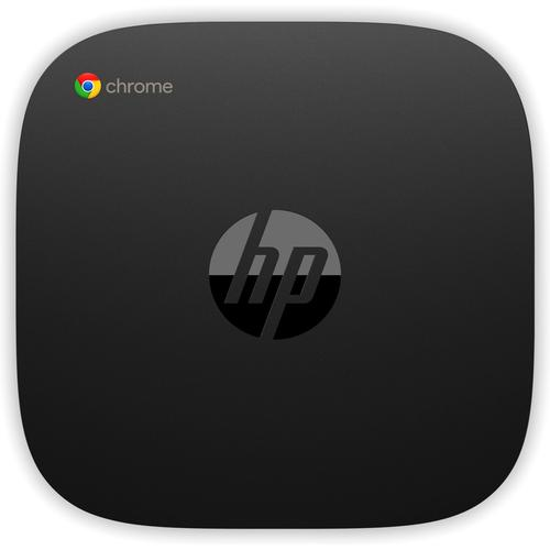 HP Chromebox G2 Intel® 8ste generatie Core™ i7 i7-8650U 16 GB DDR4-SDRAM 64 GB SSD Zwart Mini PC productfoto  L