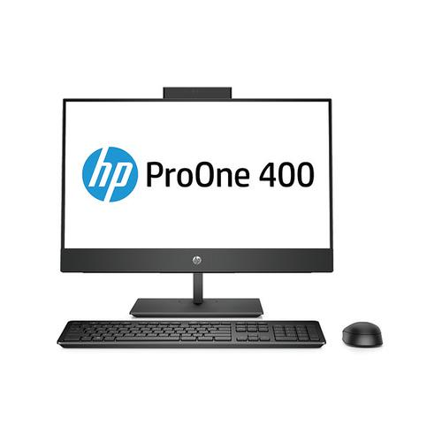 "HP ProOne 440 G4 60,5 cm (23.8"") 1920 x 1080 Pixels Intel® 8ste generatie Core™ i3 i3-8100T 4 GB DDR4-SDRAM 1000 GB HDD Zwart Alles-in-één-pc productfoto"