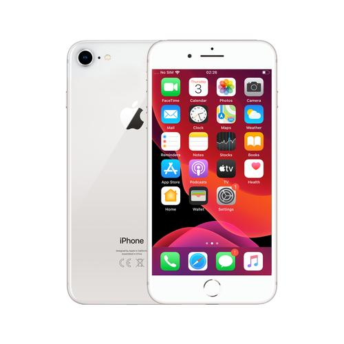Renewd iPhone 8 Zilver 64GB productfoto
