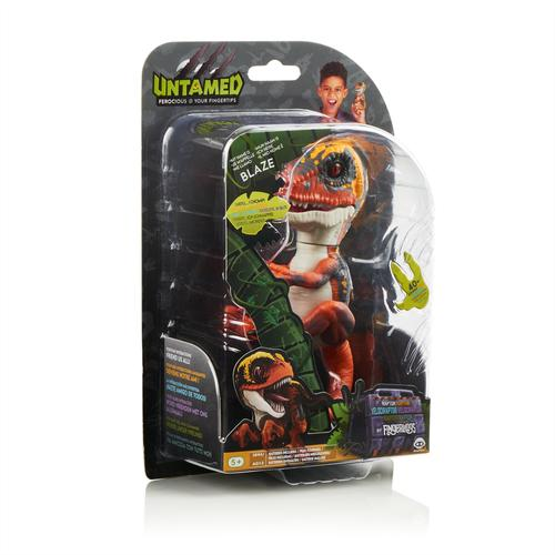 WowWee Fingerlings Untamed Baby Raptor Blaze - oranje dino productfoto
