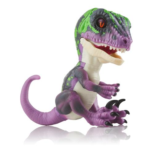 WowWee Fingerlings Untamed Baby Raptor Razor - paarse dino productfoto