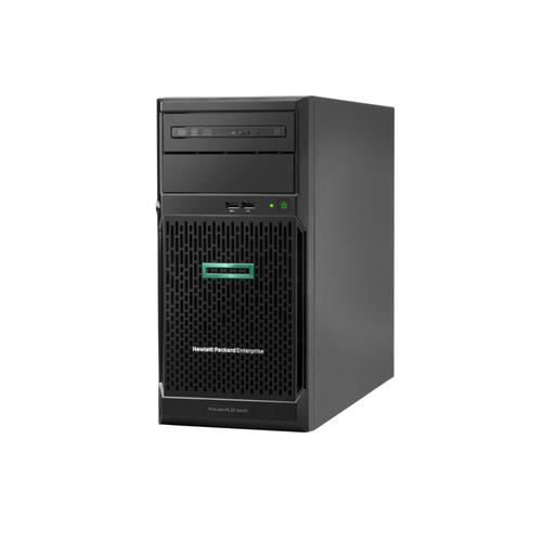 Hewlett Packard Enterprise ProLiant ML30 Gen10 server 3,3 GHz Intel® Xeon® E-2124 Tower (4U) 350 W productfoto