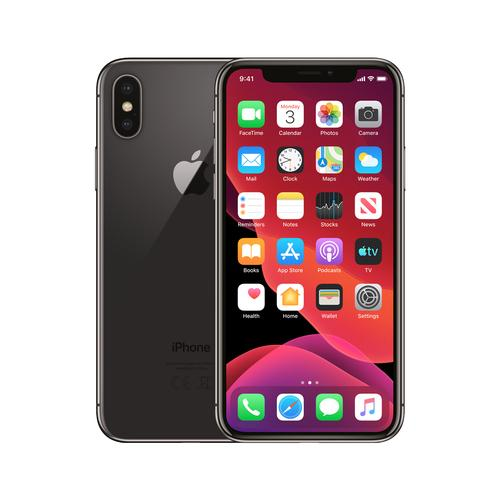 Renewd iPhone X Spacegrijs 256GB productfoto