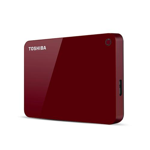 Toshiba Canvio Advance externe harde schijf 4000 GB Rood productfoto
