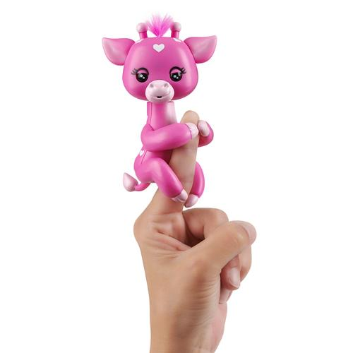 WowWee Fingerlings baby Giraffe Meadow - Roze productfoto