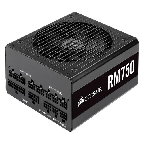 Corsair RM750 power supply unit 750 W 20+4 pin ATX ATX Zwart productfoto