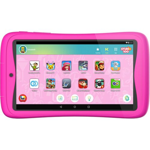 Kurio Tab Connect Studio 100 roze 7 inch 16 GB productfoto