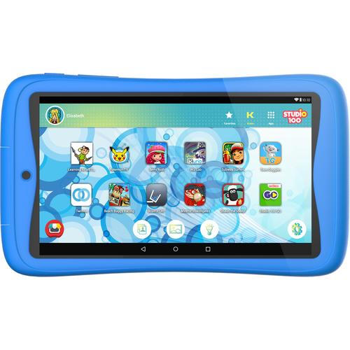 Kurio Tab Connect Studio 100 blauw 7 inch 16 GB productfoto