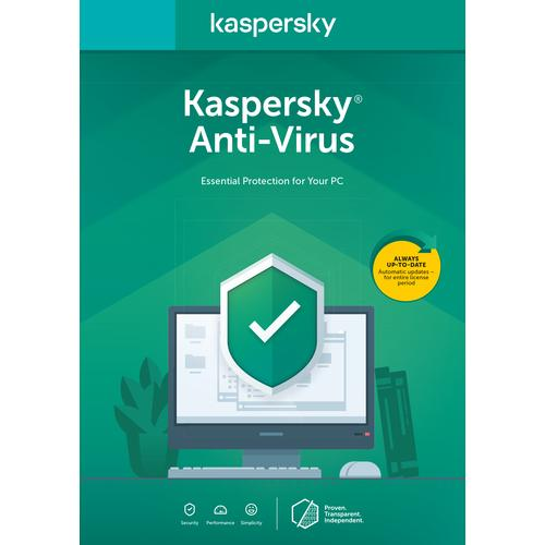 Kaspersky Lab Anti-Virus 2020 1 licentie 3 apparaten 1 jaar Nederlands productfoto