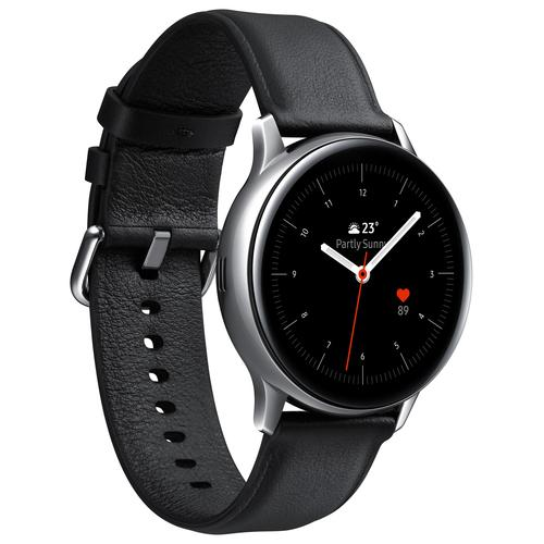 "Samsung Galaxy Watch Active2 smartwatch SAMOLED 3,05 cm (1.2"") Zilver GPS productfoto"