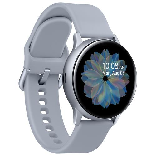 "Samsung Galaxy Watch Active2 3,05 cm (1.2"") 40 mm SAMOLED Zilver GPS productfoto"