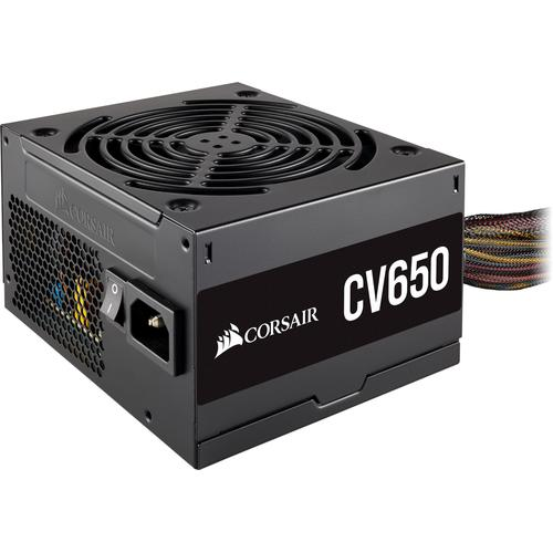 Corsair CV650 power supply unit 650 W ATX Zwart productfoto