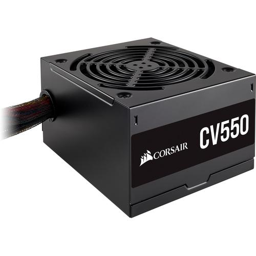 Corsair CV550 power supply unit 550 W ATX Zwart productfoto