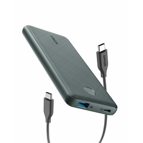 Anker PowerCore Slim 10000 PD powerbank Zwart 10000 mAh productfoto