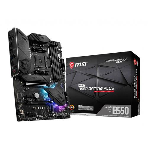 MSI MPG B550 Gaming Plus Socket AM4 ATX AMD B550 productfoto