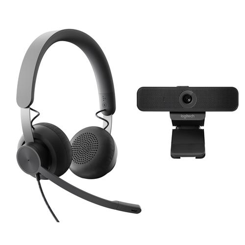 Logitech Personal Collaboration kit - Zone Wired & C925e - UC productfoto