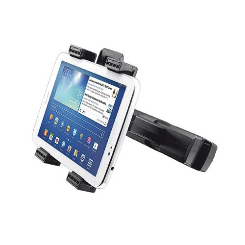 Trust Universal Car Headrest Holder Tablet/UMPC Zwart Passieve houder productfoto