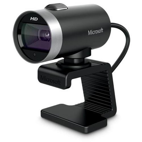 Microsoft LifeCam Cinema webcam 1 MP 1280 x 720 Pixels USB 2.0 Zwart productfoto
