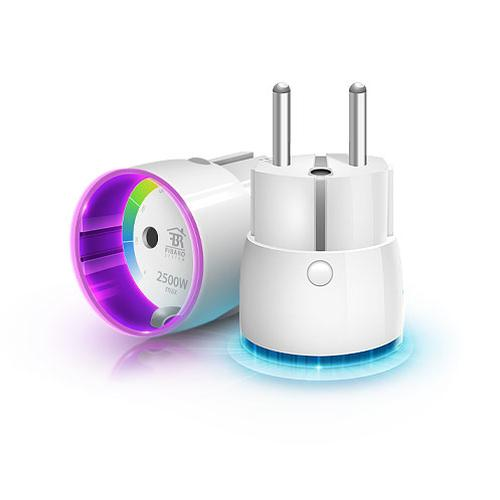 Fibaro FGWP-102 netstekker adapter Type F Wit productfoto