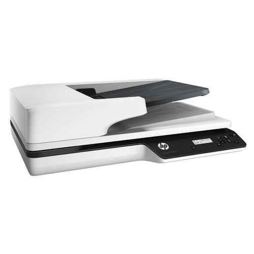 HP Scanjet Pro 3500 f1 1200 x 1200 DPI Flatbed-/ADF-scanner Grijs A4 productfoto