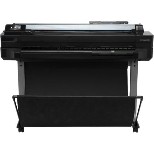 HP Designjet T520 grootformaat-printer Kleur 2400 x 1200 DPI Thermische inkjet A0 (841 x 1189 mm) Ethernet LAN Wi-Fi productfoto