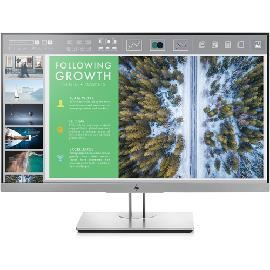 "HP EliteDisplay E243 LED display 60,5 cm (23.8"") Full HD Flat Zwart, Zilver productfoto"