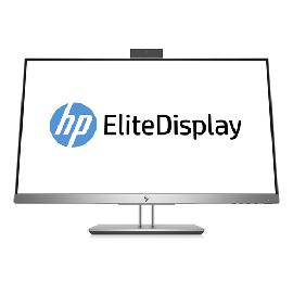"HP EliteDisplay E243d LED display 60,5 cm (23.8"") Full HD Flat Mat Grijs, Zilver productfoto"