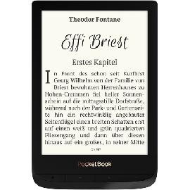 Pocketbook Touch Lux 4 e-book reader Touchscreen 8 GB Wi-Fi Zwart productfoto