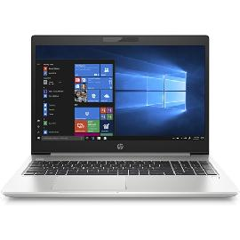 "HP 450 G6 Zilver Notebook 39,6 cm (15.6"") 1920 x 1080 Pixels Intel® 8de generatie Core™ i5 8 GB DDR4-SDRAM 256 GB SSD Wi-Fi 5 (802.11ac) Windows 10 Pro productfoto"