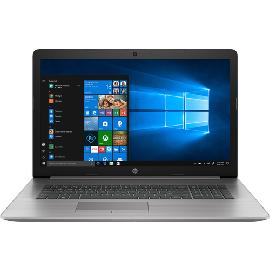 "HP ProBook 470 G7 Zilver Notebook 43,9 cm (17.3"") 1920 x 1080 Pixels Intel® 10de generatie Core™ i5 8 GB DDR4-SDRAM 256 GB SSD AMD Radeon 530 Wi-Fi 6 (802.11ax) Windows 10 Pro productfoto"