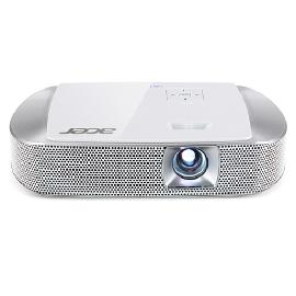 Acer K137i beamer/projector 700 ANSI lumens DLP WXGA (1280x800) Draagbare projector Zilver productfoto